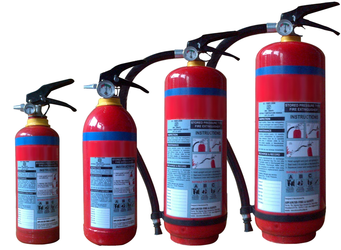 Power Based Fire Extinguishers